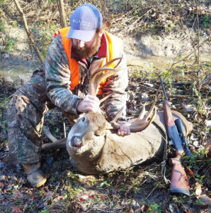 Mason Nooe made the most of a second chance at this odd palmate buck in Rankin County, putting him down on Dec. 22.