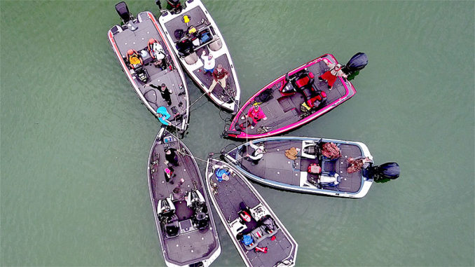 The author gets together with a group of anglers every spring on Michigan's Lake St. Clair. Everyone travels at least 600 miles for the event. Although they can't claim ancestral fishing rights, this annual trip has great value to their small tribe.